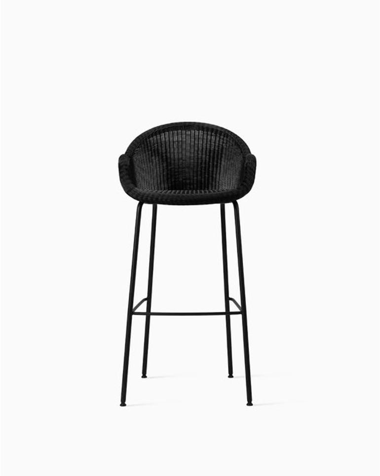 Edgard bar stool steel A base