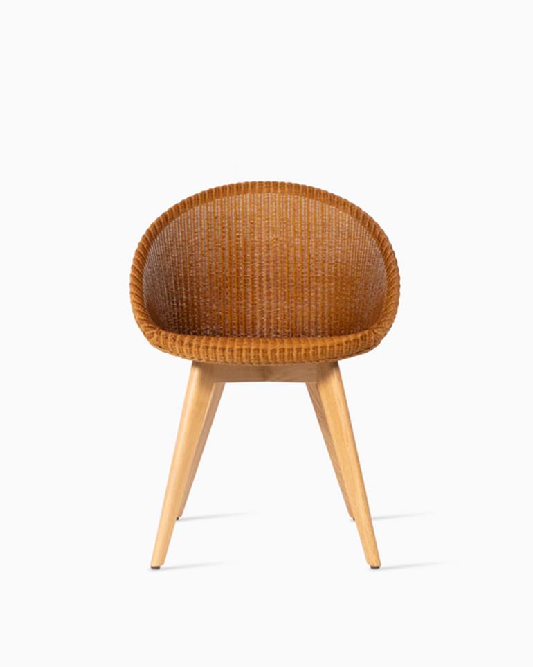 Joe dining chair oak base