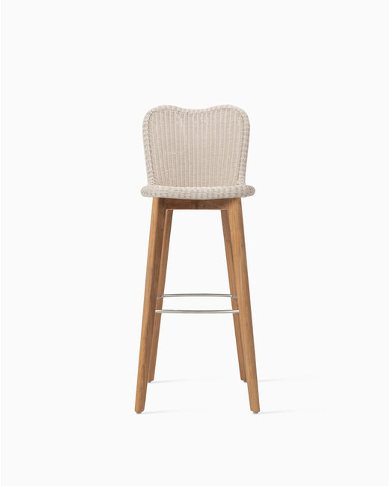 Lena bar stool teak base