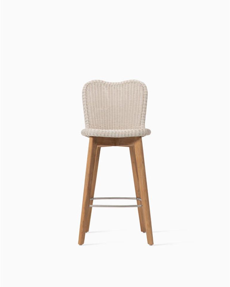 Lena counter stool teak base
