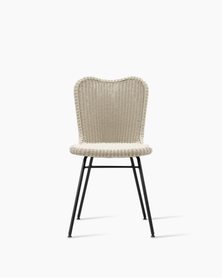 Lena dining chair steel A base