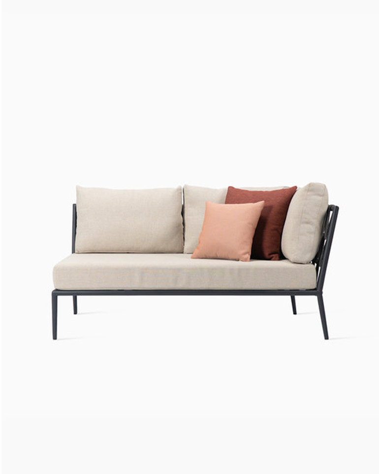 Leo modular sofa corner left
