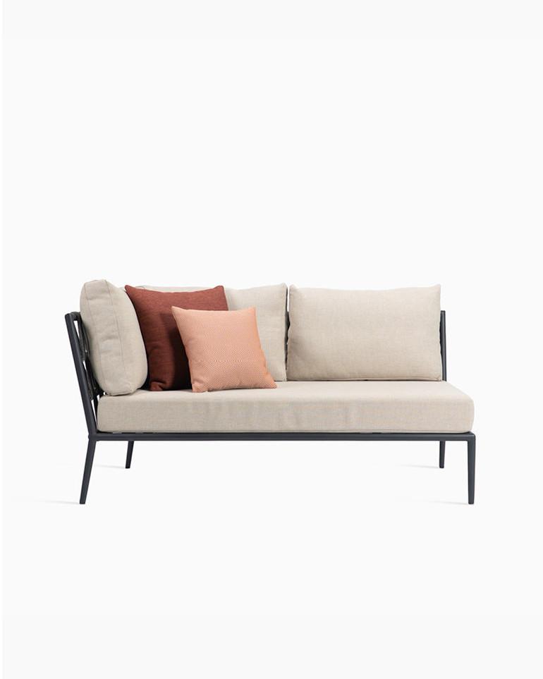 Leo modular sofa corner right