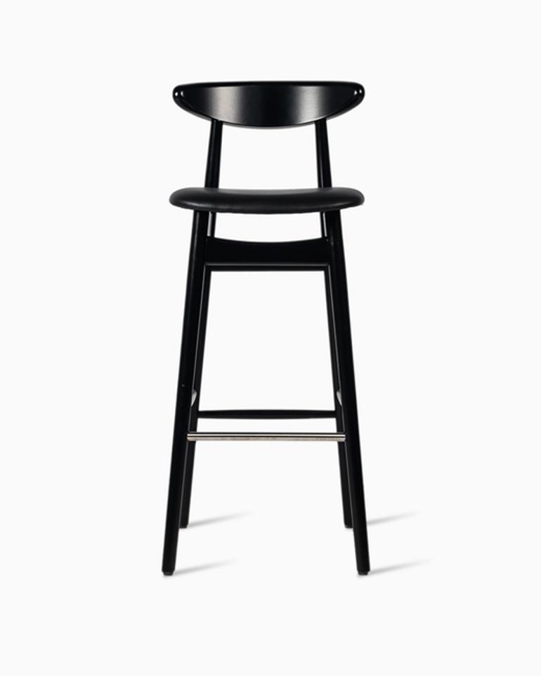 Teo bar stool upholstered