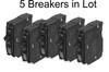 Five QO120 Breakers in Lot