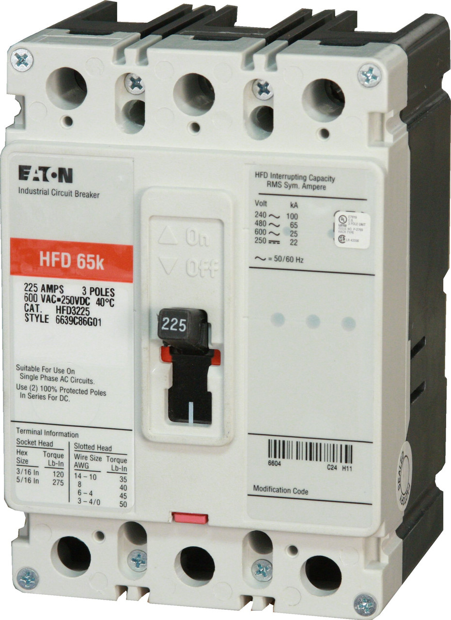 HFD3225 from Eaton (New, not surplus)