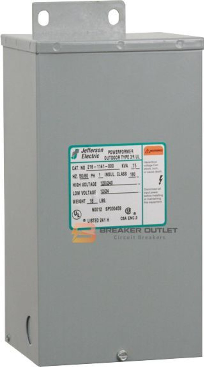 216-1141-000 .75 KVA Single Phase