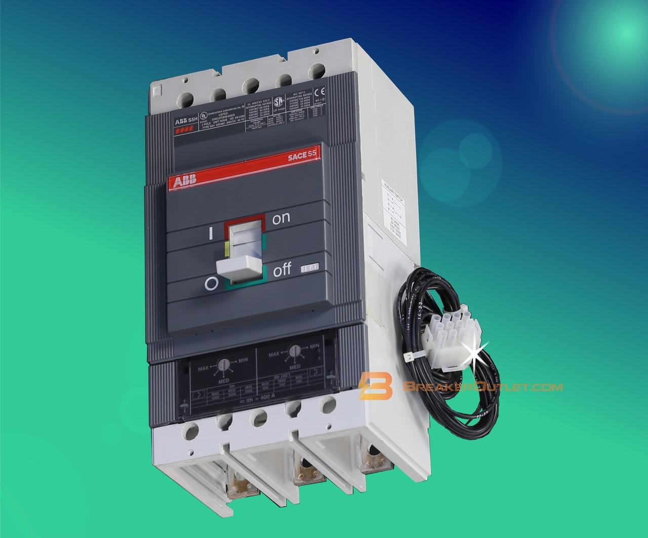ABB 400A Circuit Breaker