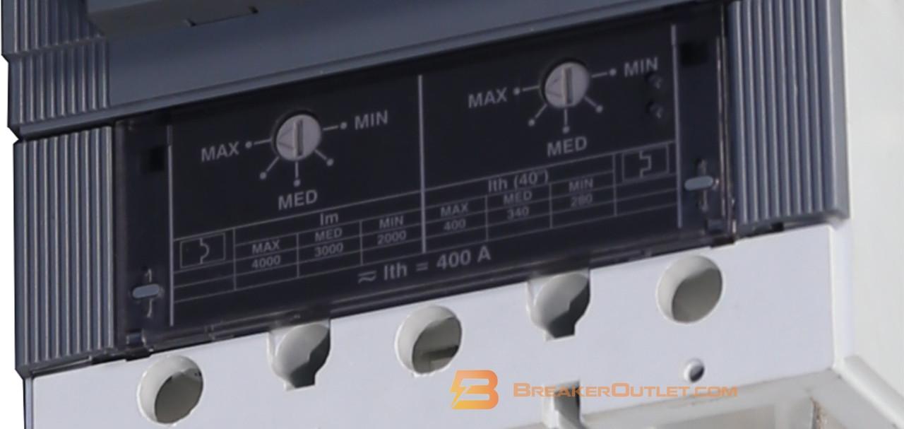 400 Amp Trip Unit