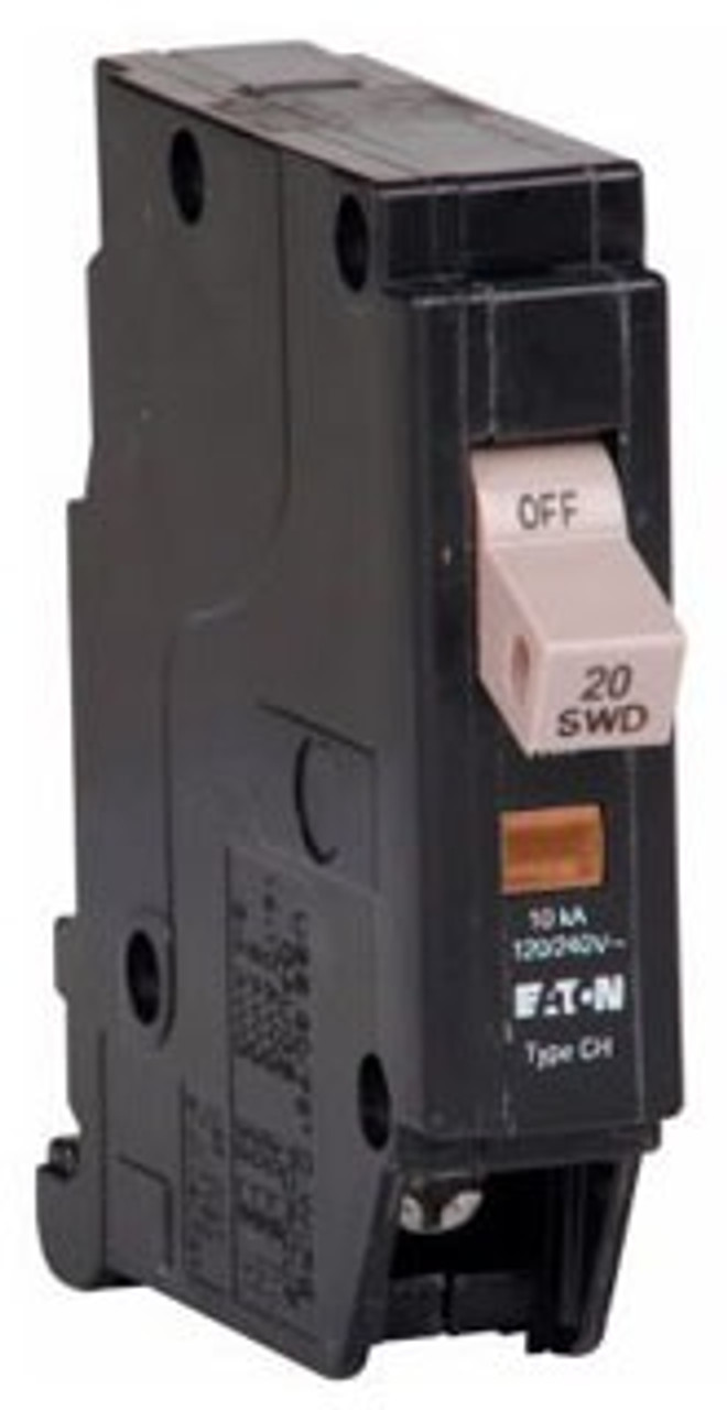 CHF120 Eaton circuit breaker 20 amp and 240 AC voltage - Breaker Outlet
