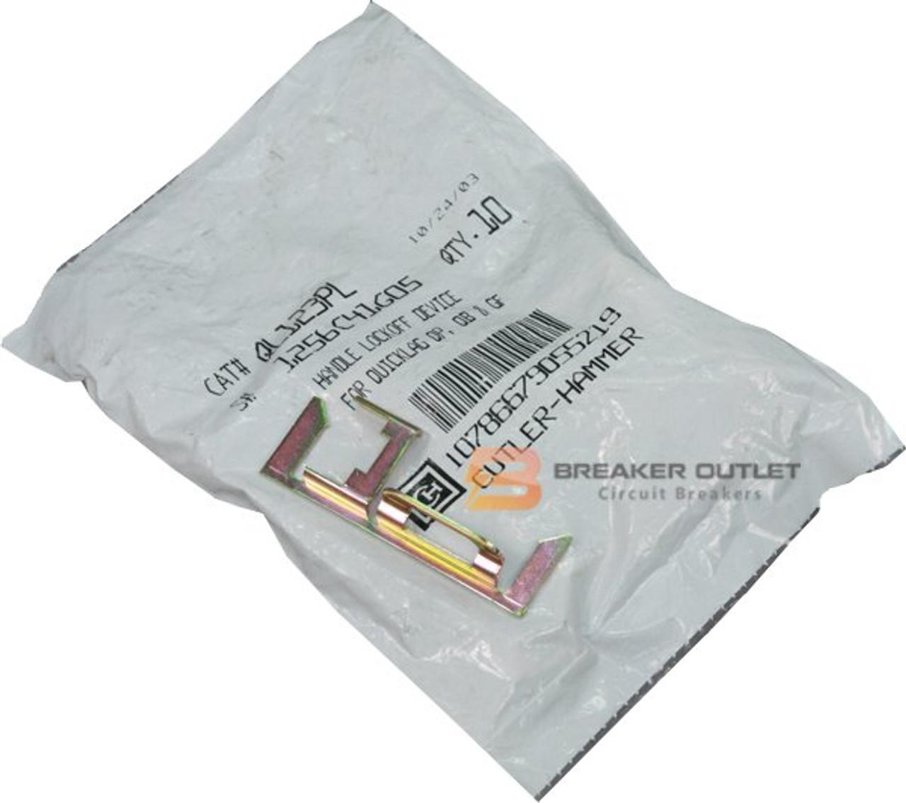 QL123PL circuit breaker padlock - Breaker Outlet