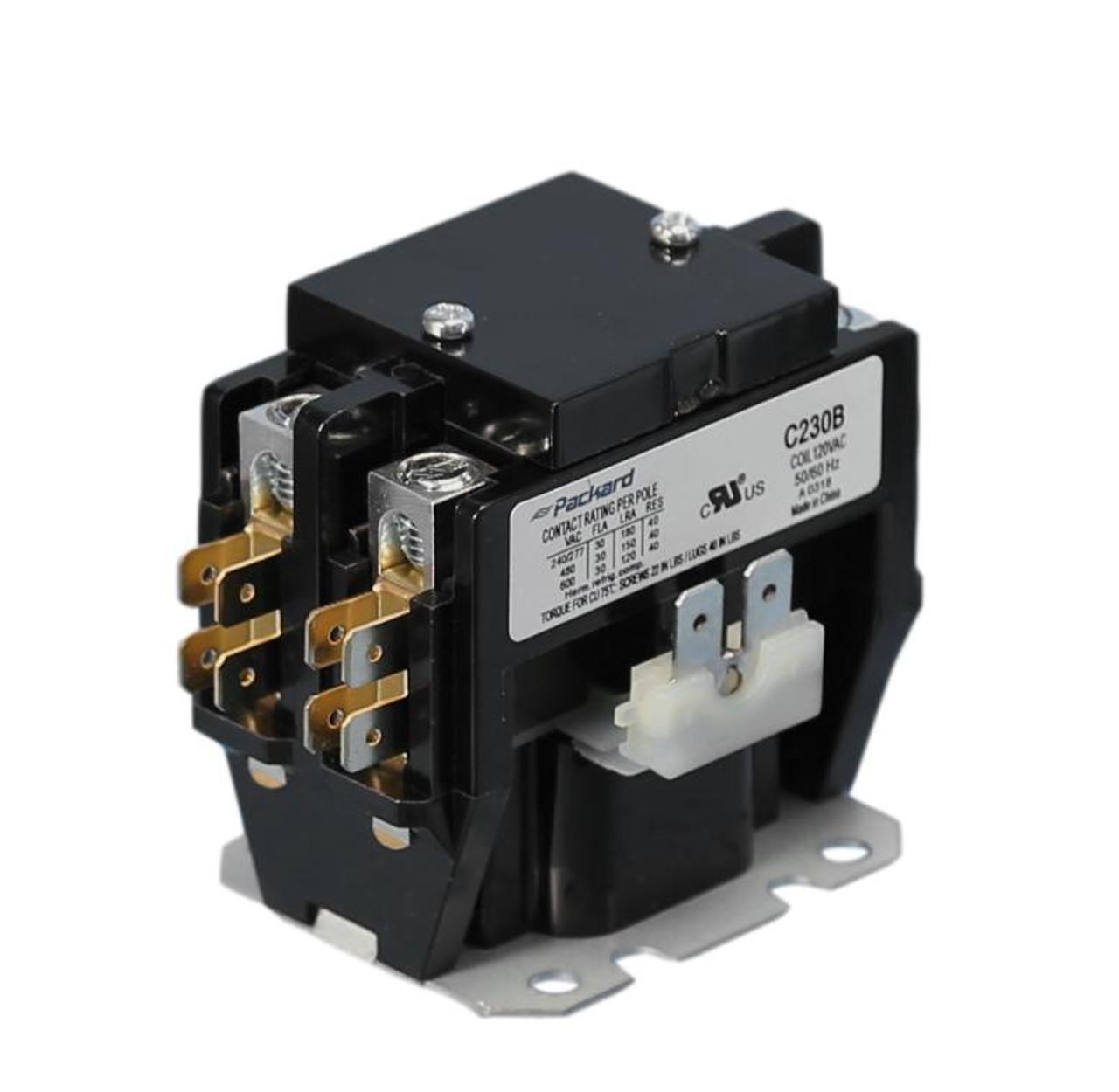 C230B HVAC 120V Contactor