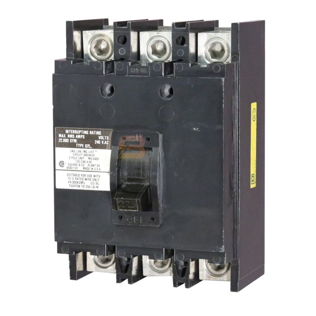 Q2L3125H (Pic is example for all Amps)