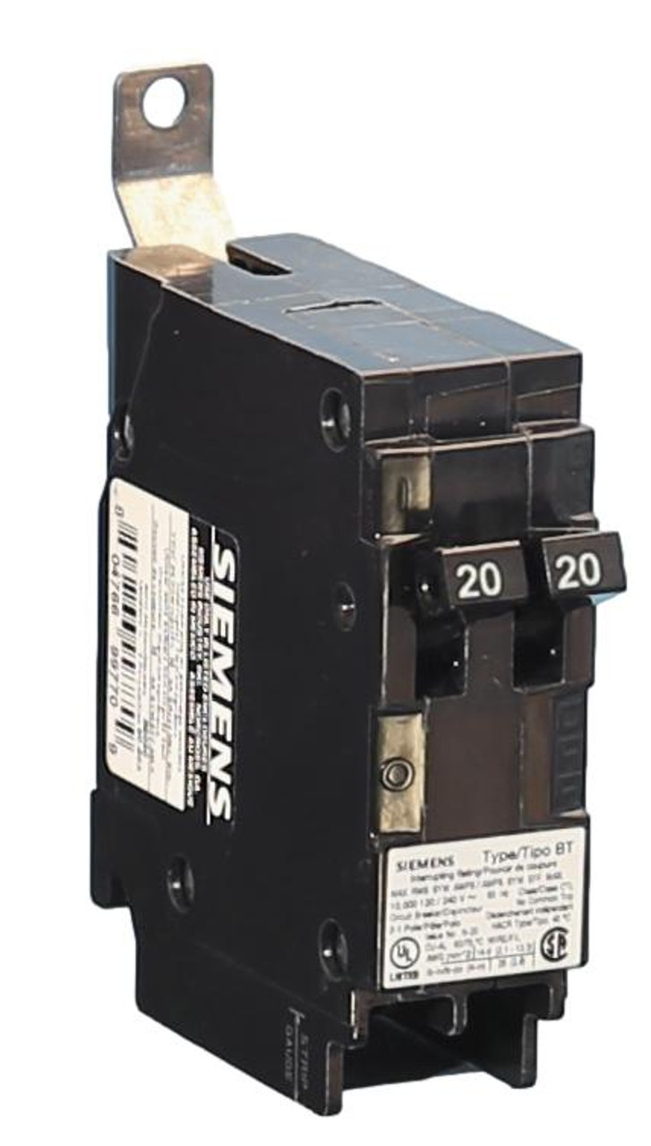 B2020 Siemens Breaker (Like this, but with two toggles)