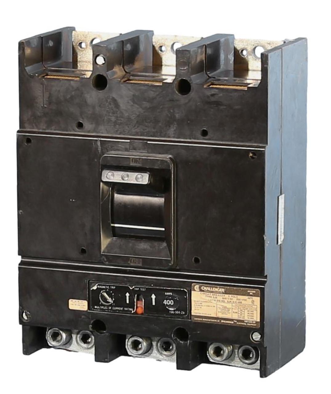 SJK-3-C-400 Challenger Circuit Breaker 400 Amp Frame 400A Trip