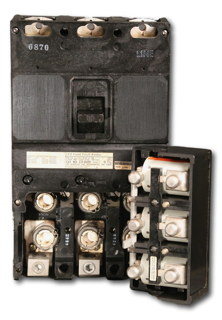View of fuse block