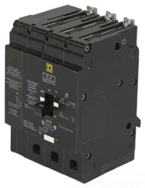 EDB34035SA 35A Breaker with 120V Shunt Trip Square D Circuit Breaker