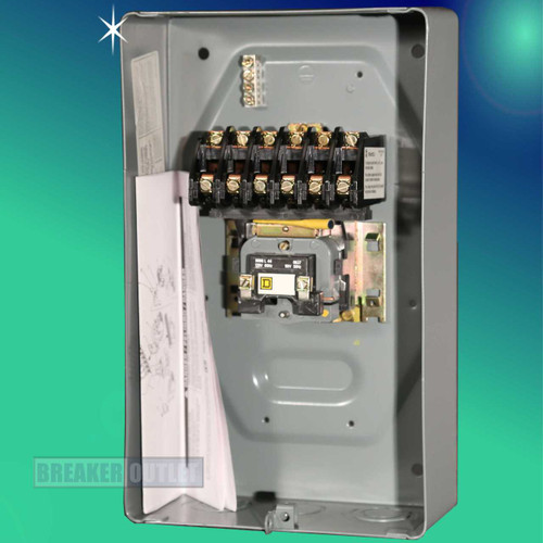 8903LO60V02 6 Pole Lighting Contactor by Square D