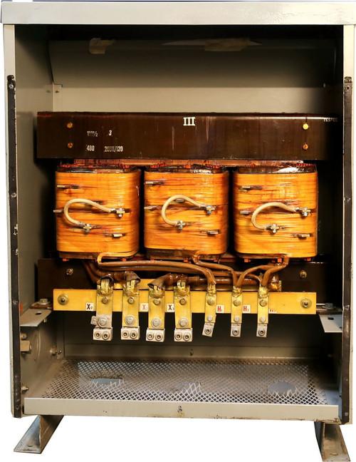 112.5 kVA Transformer 480V - 208/120 Used