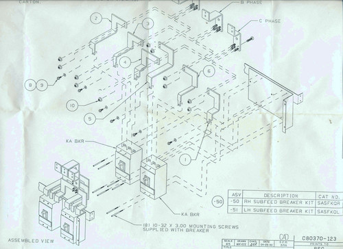 Drawings for install detail