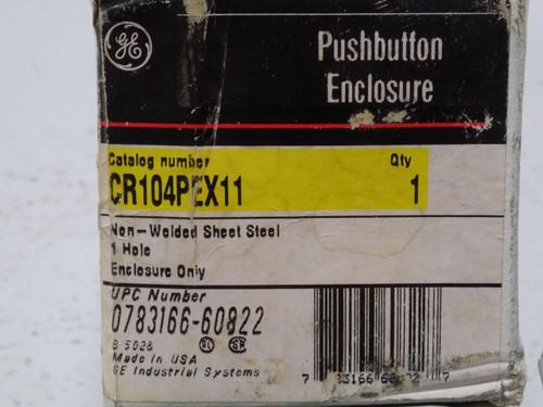 GE PUSHBUTTON ENCLOSURE CR104PEX11
