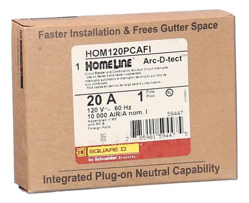 HOM115PCAFI Home-Line Plug-in Combination Arc Fault