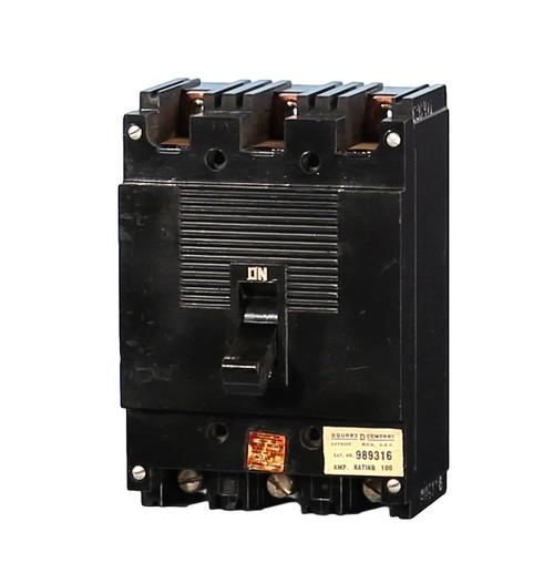 999340 ML-1 Square D Circuit Breaker (Pic Represents all Amperages)