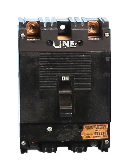 999216 2 Pole ML-1 Square D Circuit Breaker