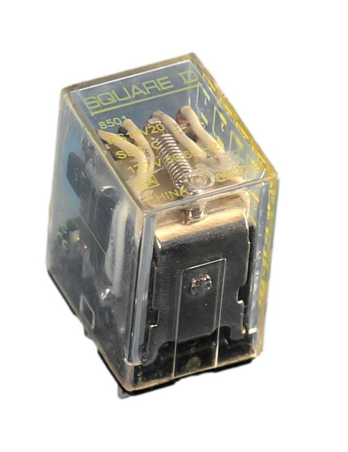 8501-RS14V20 Plug-In Miniature Relay - 14 Blade plug-in - 120VAC coil