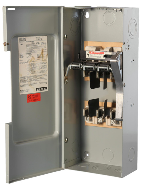Murray 100A 240V Fusible Safety Switch