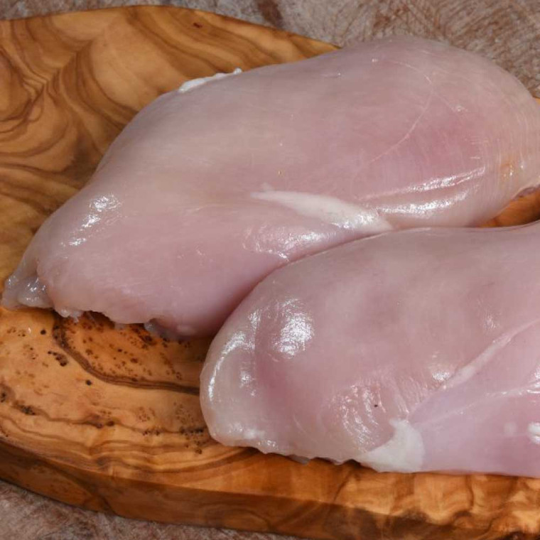 4 x Skinless breast – perfect for roasting or frying.