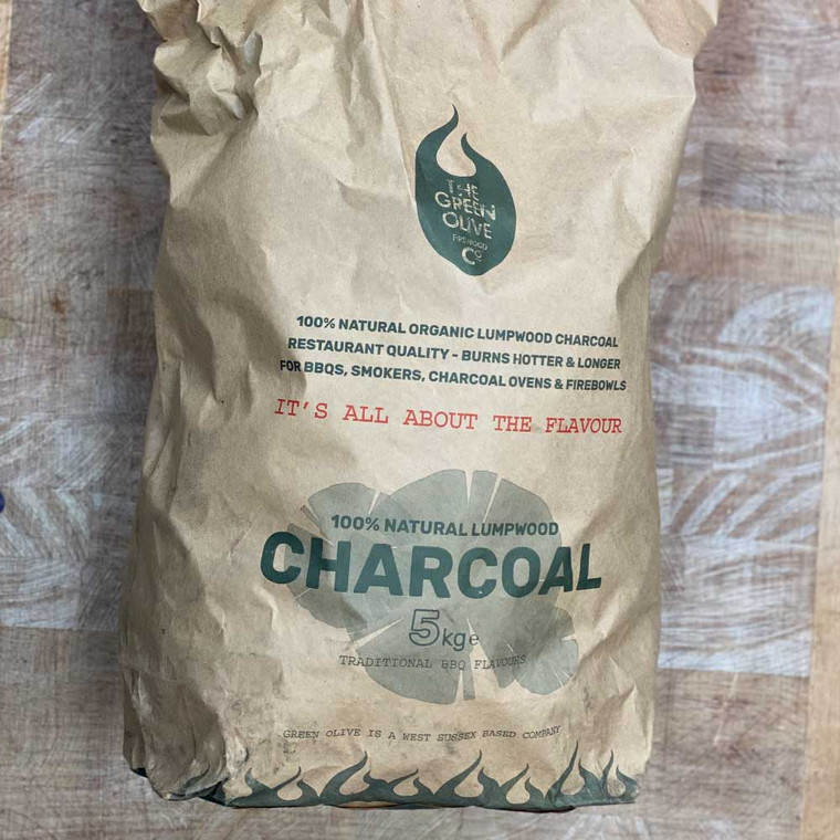 From The Green Olive Company, these high quality locally sourced Charcoal.