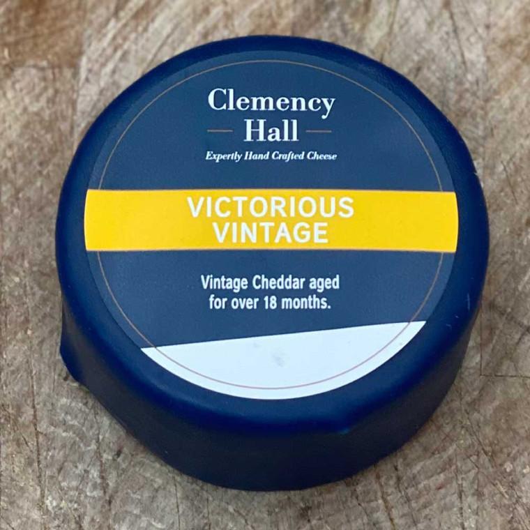 Vintage cheddar aged for over 18 months.