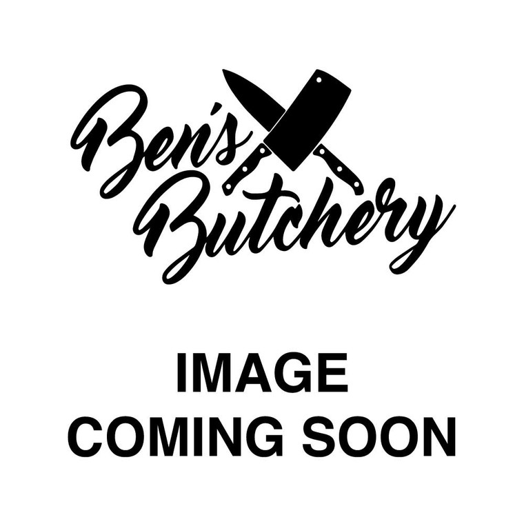 Butterfly leg of lamb, 1.5kg. Perfect for BBQ or for a Family roast.  Completely boneless and flat for quick cooking.  Marinated in a Garlic & Herb Glaze.