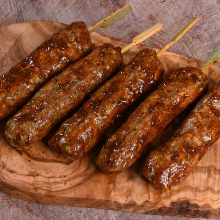 Handmade at our butchers – delicious chicken kofta. Perfect for the BBQ, lunch or dinner.