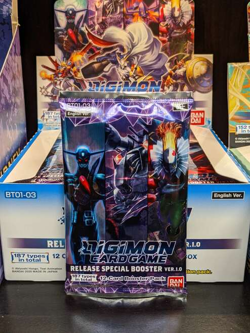 Digimon Release Special Booster Ver. 1.0