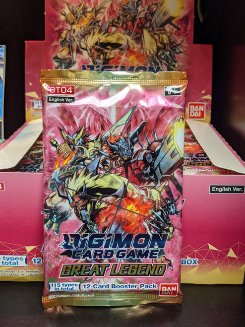 Digimon Great Legend Booster