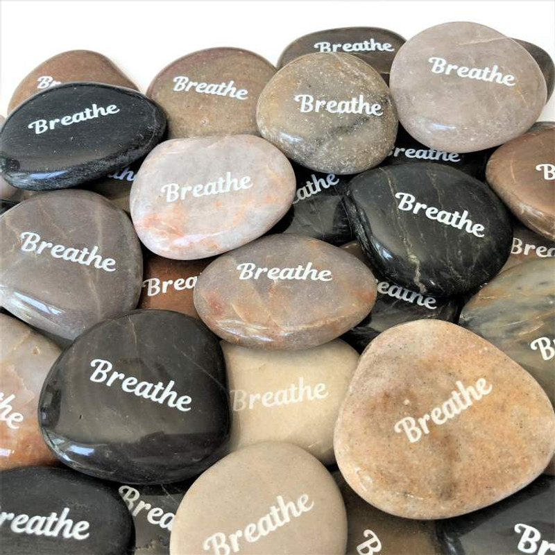 These serve as a great reminder to Breathe.