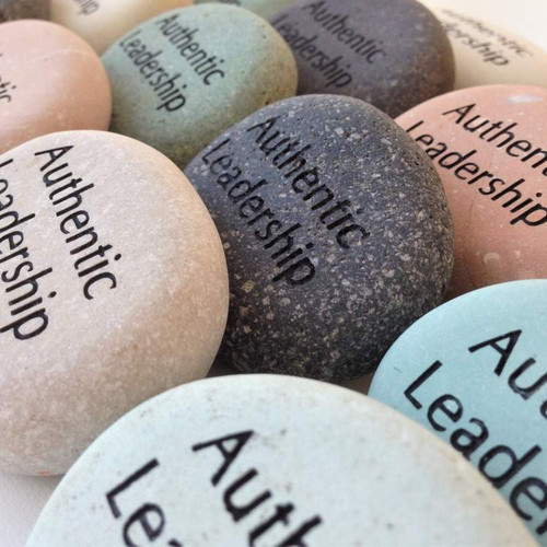 Inspirational Words and Phrases Glass Engraved Word Stone Sold Individually