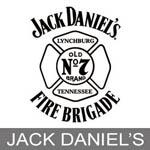 Jack Daniels Fire Truck Scale Models