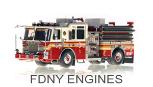 FDNY Engines Scale Models