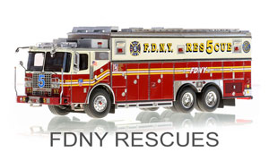 FDNY Rescues Scale Models