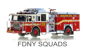 FDNY Squads Scale Models