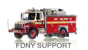 FDNY Support Scale Models