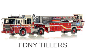 FDNY Tillers Scale Models