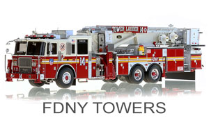 FDNY Towers Scale Models