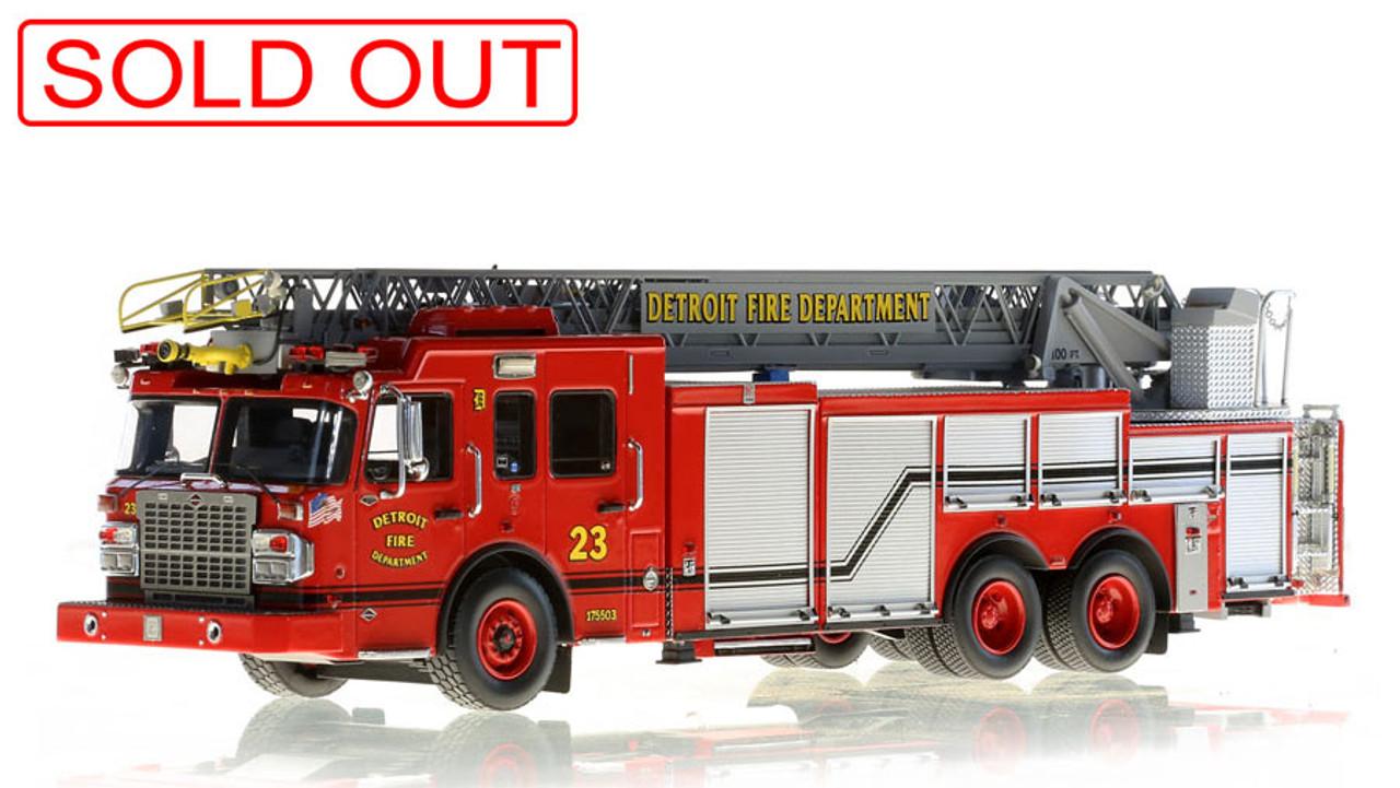 Detroit Fire Department Spartan/Smeal Ladder 23