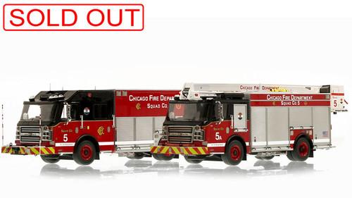 Museum grade Rosenbauer scale models by Fire Replicas