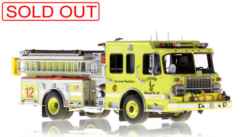 Chicago scale models by Fire Replicas
