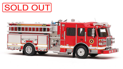 fire replicas columbus division of fire sutphen sph100 aerial